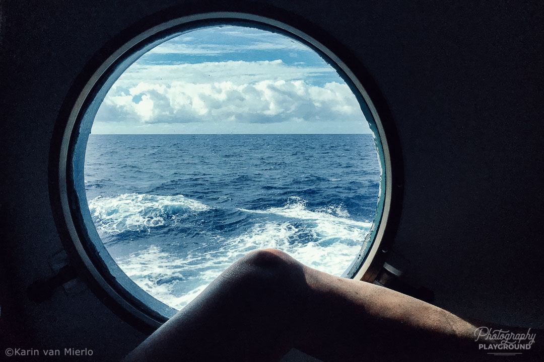 instagram photos, instagram photography tips | Photo: Window view, Somewhere on the Atlantic Ocean ©Karin van Mierlo, Photography Playground