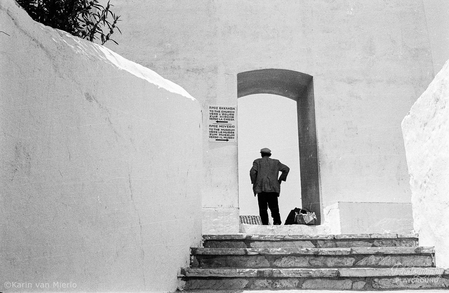 photography quotes, photo quote | Photo: Analog B&W Corfu, Greece © Karin van Mierlo, Photography Playground
