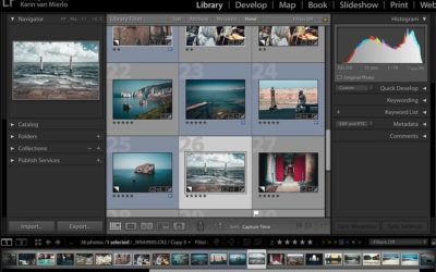 How to Navigate the Library Module in Lightroom