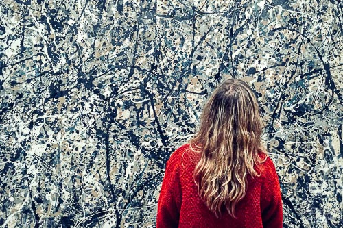 smartphone photography course, mobile photography course, camera app download, procamera, camera fv-5 | ©Karin van Mierlo, Photography Playground, Photo: iPhone, Jackson Pollock, Museum of Modern Art,New York