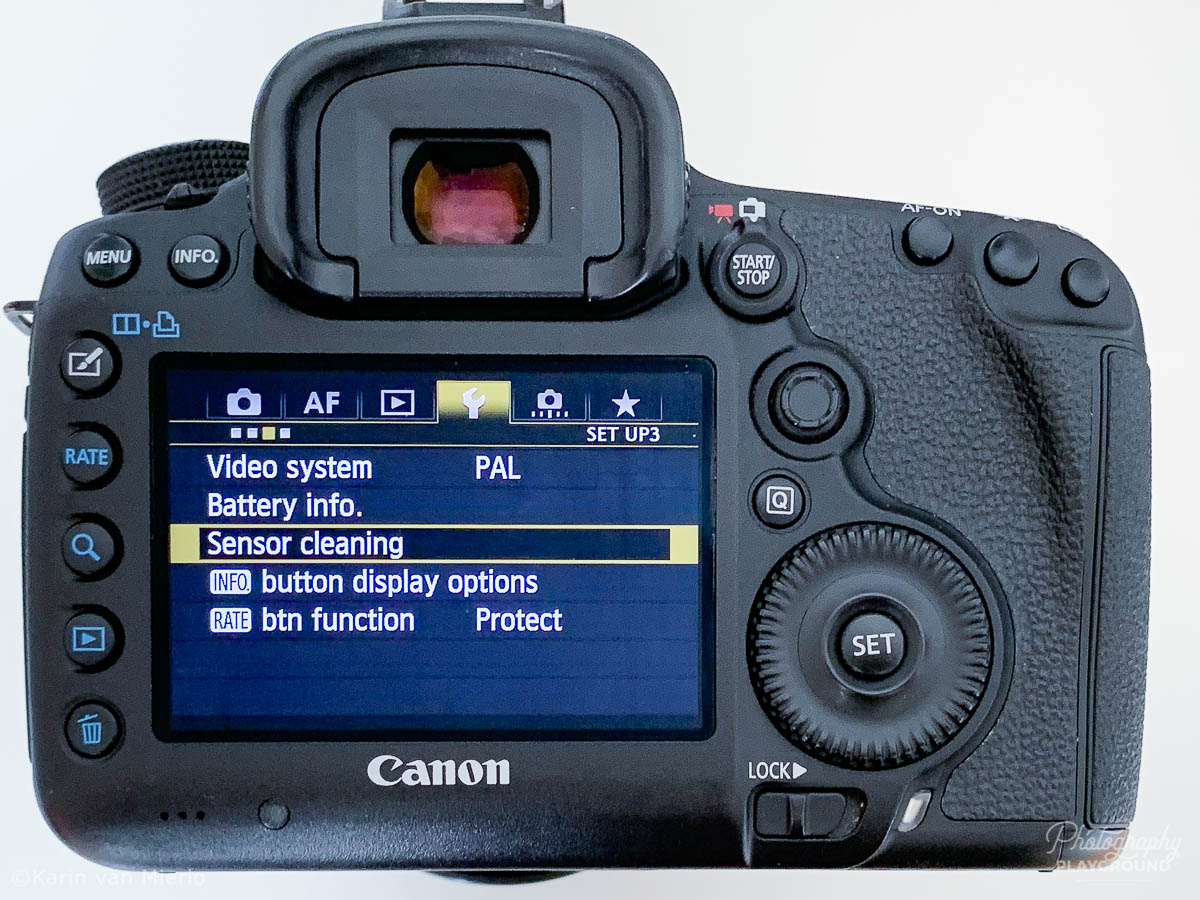 camera sensor cleaning, how to clean camera sensor | Photo: ©Karin van Mierlo, Photography Playground ~ Canon 5D Mark III