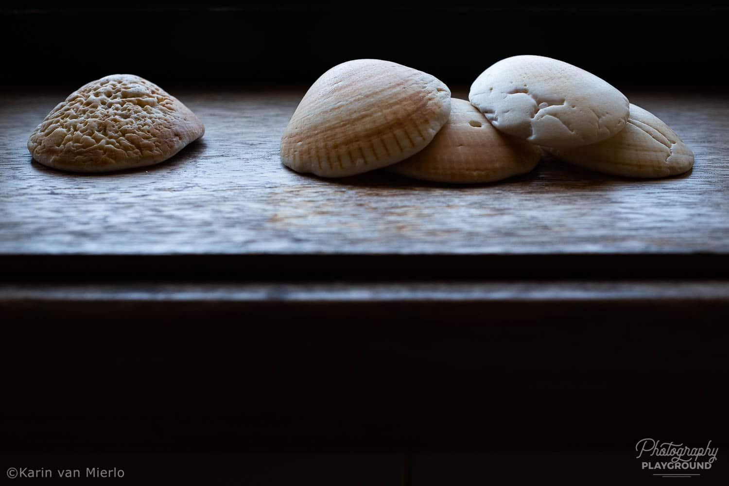 mindful photography tips, mindful photography ideas | Photo: ©Karin van Mierlo, Photography Playground ~ Shells in the window, Porto, Portugal