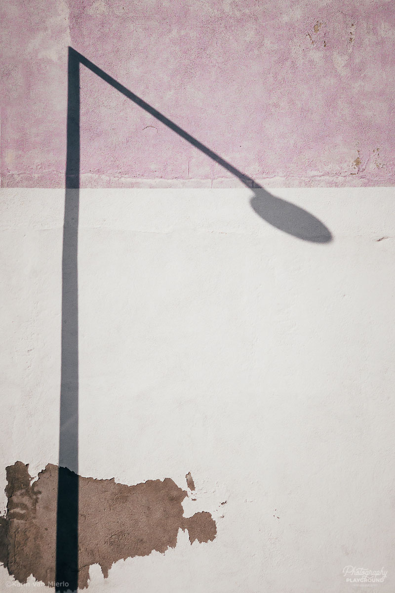 See Fresh: Finding Your Photo Mojo | Photo ©Karin van Mierlo | Photography Playground | Shadow on a wall in Lisbon, Portugal
