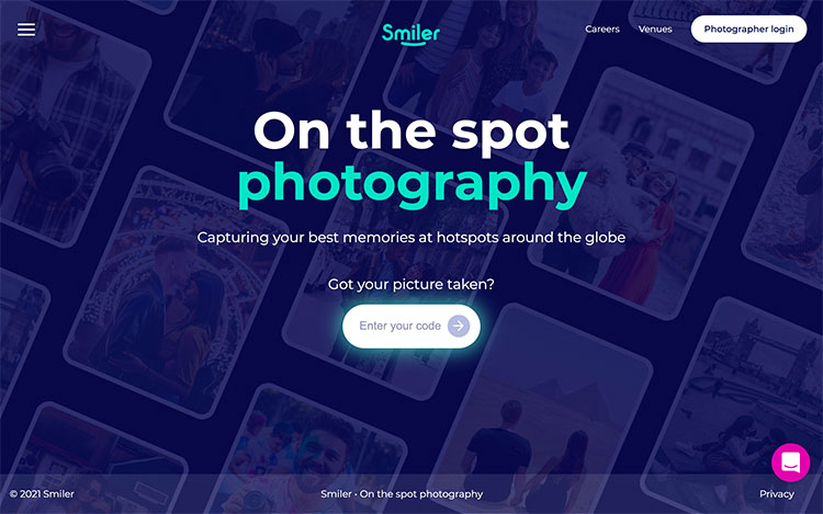 make money with photography, How to make money as a photographer | Screenshot Smiler